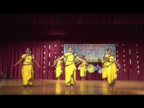 """CAA - 2017 AP Cultural Festival - Oct 14th 2017 - Item-15 """"Attaana Jathiswaram"""""""