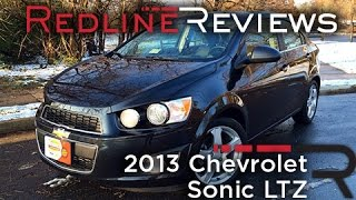 2013 Chevrolet Sonic LTZ Review, Walkaround, Exhaust