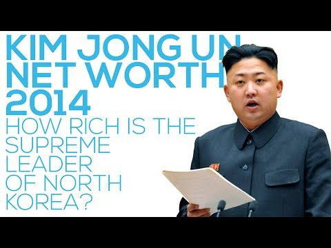 Kim Jong Un Net Worth 2014