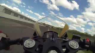 Karel Hanika na KTM RC390 Cup