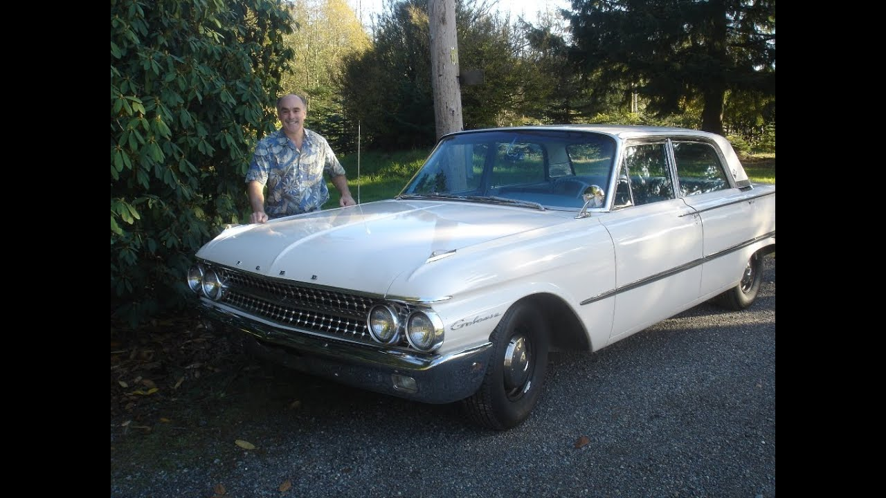 driving a 1961 ford galaxie 390 stick road test youtube. Black Bedroom Furniture Sets. Home Design Ideas