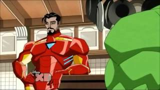 avengers earth's mightiest heroes funny moments pt1