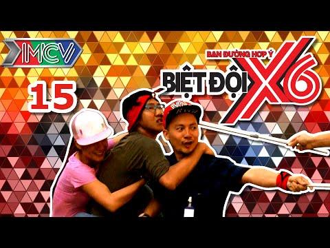 Biệt Đội X6 - Tập 15 | Sĩ Thanh cùng Lan Trinh thua trận vì cân nặng | 220416.