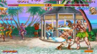 Street Fighter II-Guile's Sonic Boom