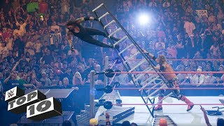 Scariest Superstar falls: WWE Top 10, Oct. 16, 2017
