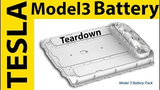 First TESLA Model 3 Battery Teardown by DIY EV Shop