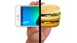 If McDonald's Advertised Like Apple. The next generation of food.