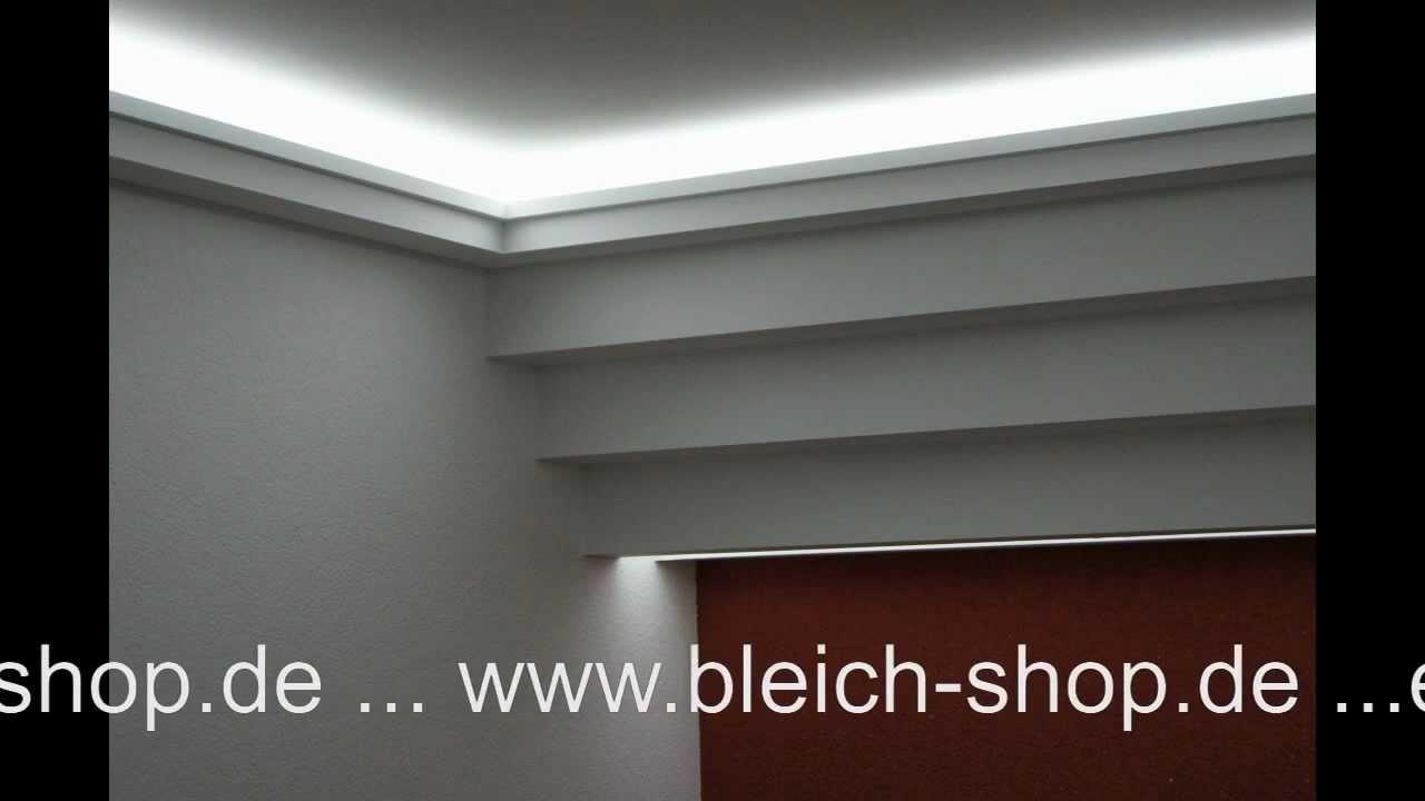 lichtdecke mit led lichtvouten mit indirekter beleuchtung. Black Bedroom Furniture Sets. Home Design Ideas