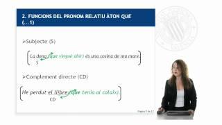 Aprende Valenciano. Lección 13