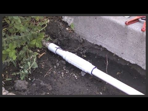 How To Repair A Sprinkler Line With A Quick Fix Coupling