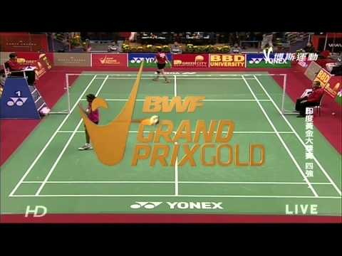 2014India Grand Prix Gold SF WS Sindhu P  V(IND) vs Lindaweni Fanetri(INA)