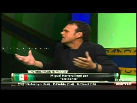 PELEA Hugo Sánchez vs David Faitelson VIDEO COMPLETO Futbol Picante