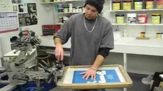 How To Screen Print Custom T-Shirts Part 1