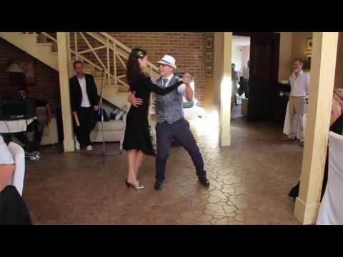 Эффектное свадебное танго
