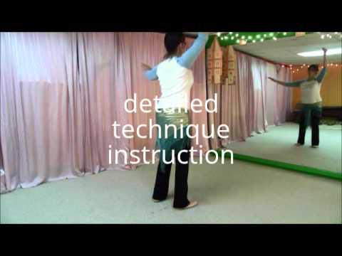beledi dance instructional video