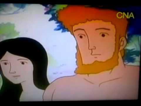 قناة cna سي ان ايه تعرض فلم كارتون لاشخاص عراة