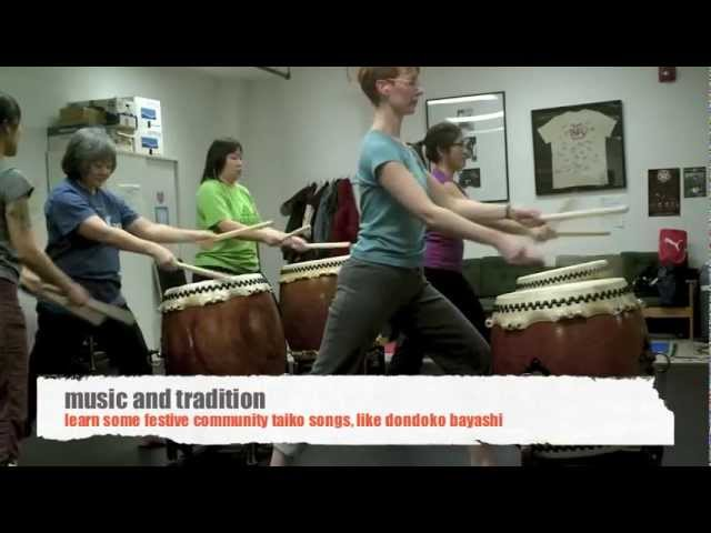 Yakudo: a taste of taiko classes for adults
