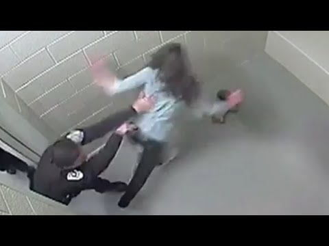 Woman's Face Shattered By Cop In Cell Following DUI [GRAPHIC VIDEO]