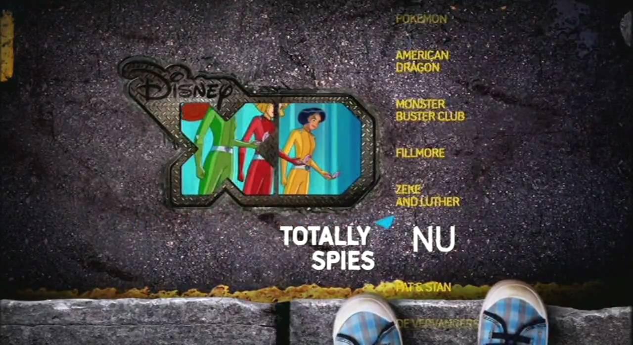 Disney Xd Bumpers 1 : Nu totally spies disney xd bumper dutch youtube