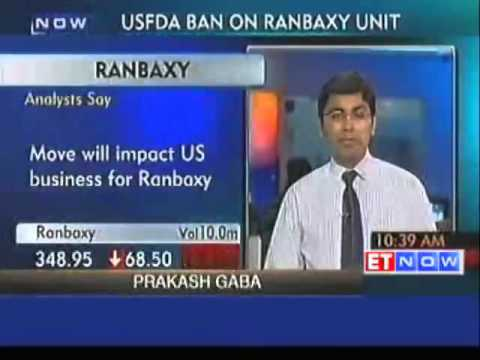 US halts drug imports from Ranbaxy plant in India