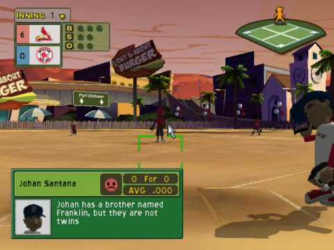 backyard baseball 2007 gameplay including review youtube