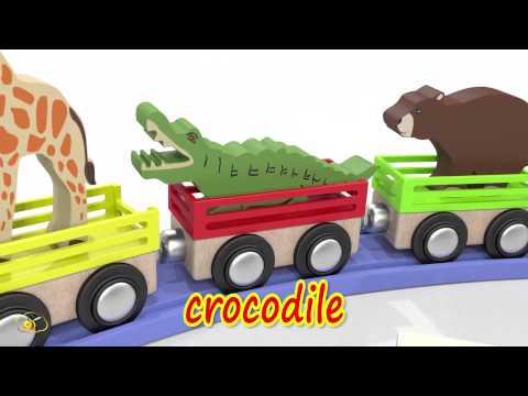 Tiếng Anh Cho Trẻ Em - Học tiếng anh qua phim hoạt hình - Các loài động vật.
