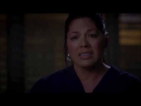 Callie and Arizona moments - Callie finds out/