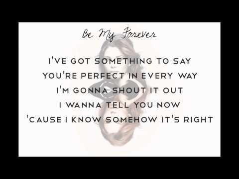 Be My Forever - Christina Perri (feat. Ed Sheeran), lyrics