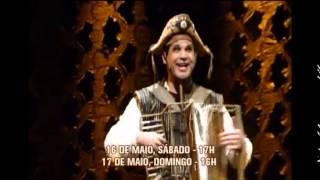 Musicais �pera do Maladro e Gonzag�o se apresentam em BH neste fim de semana