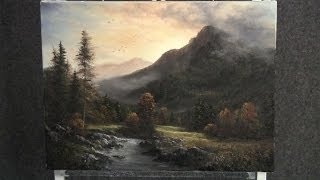 Paint With Kevin Hill Autumn Mountain