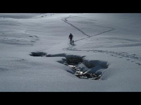 Ascensión y descenso con esquís del Posolobino