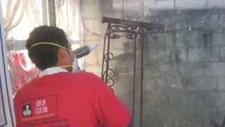 Hierro forjado - Pintura al horno