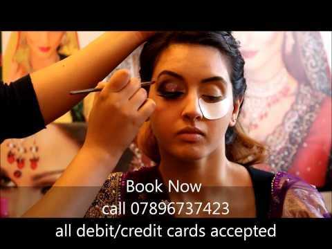 RIZ KHAN TRAINING ACADEMY - 5 DAY COURSE in Bridal/Arabic/Smokey/Media&Party HAIR/MAKEUP