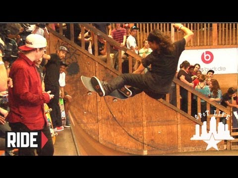Jake Johnson, Sierra Fellers, and David Gonzalez Raw Footage Tampa Pro 2012 - SPoT Life Event Check