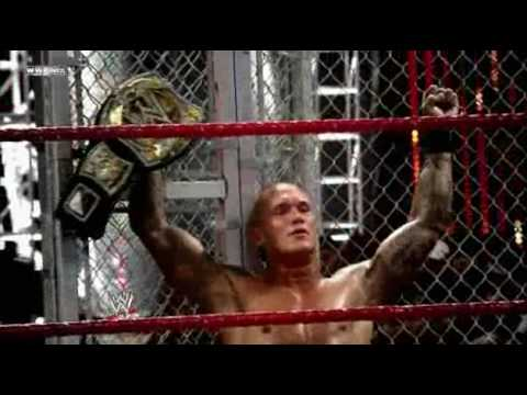 WWE Bragging Rights - Orton vs Cena Iron Man Match