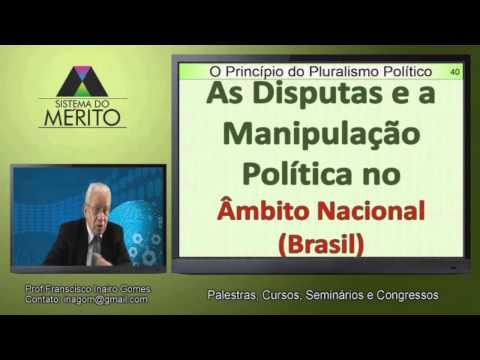 POL.09 - O Princípio Constitucional do Pluralismo Político