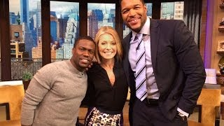 Kevin Hart On LIVE With Kelly And Michael