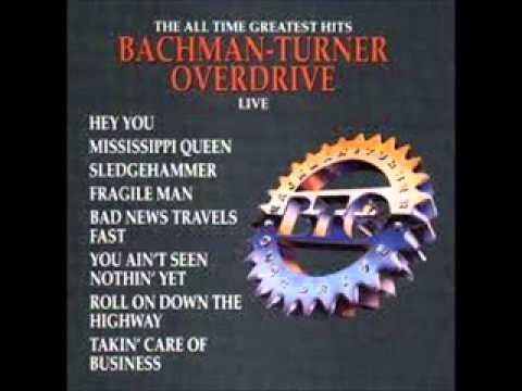 HEY YOU Chords - Bachman Turner Overdrive | E-Chords