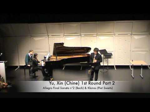 Yu, Xin (Chine) 1st Round Part 2