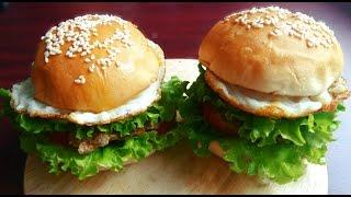 Cách Làm Bánh HAMBURGER thật dễ dàng ngay tại nhà - Món Ăn Ngon