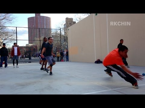 30 March 2013 Handball Courts in Chinatown NYC