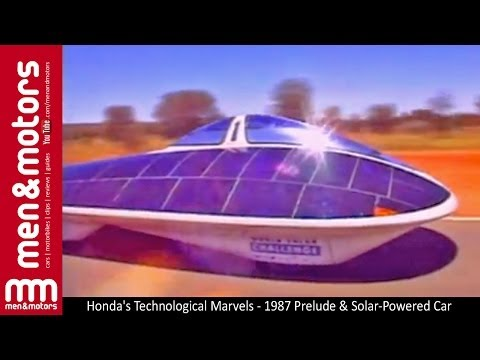 Honda's Technological Marvels - 1987 Prelude & Solar-Powered Car