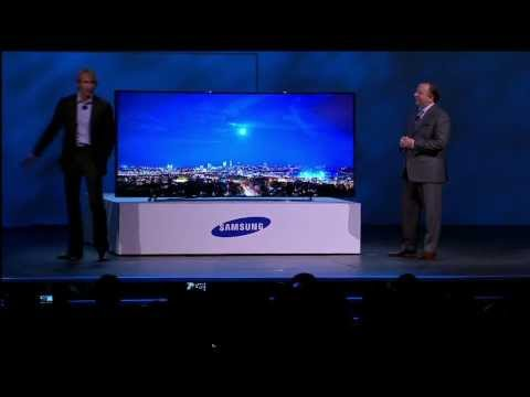 Michael Bay walks off stage at CES show