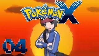 Let's Play Pokemon X Part 4 Gameplay Walkthrough