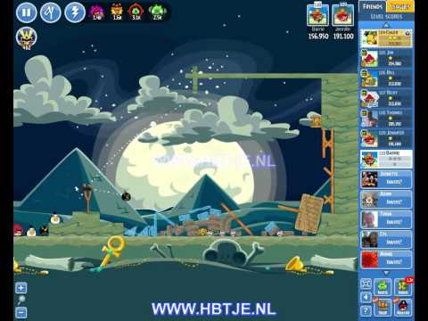 Angry Birds Friends Tournament Level 4 Week 129 (tournament 4) no power-ups