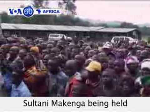 VOA60 Africa 11-07 DR Congo: M-23 rebel chief Sultani Makenga being held by Uganda's military.