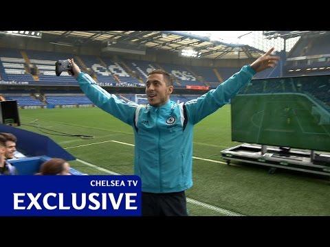 Hazard takes on fans at FIFA 15