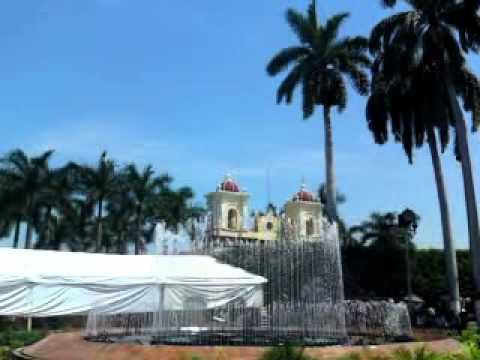 Fuente Parque Miguel Hidalgo, Tapachula, Chiapas.