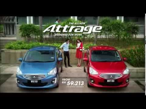 The All-New Mitsubishi Attrage ENG
