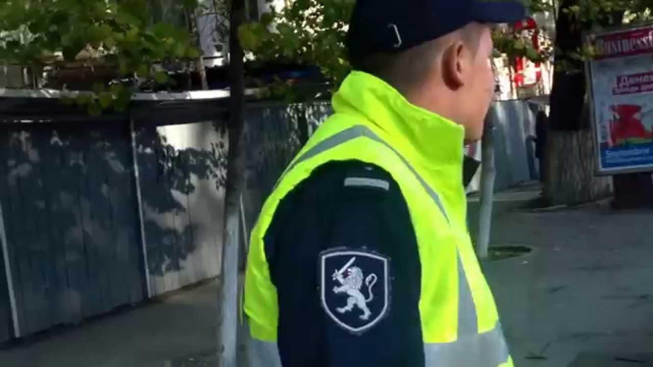 A parcat merțanul în loc ilegal, poliția strînge din umeri